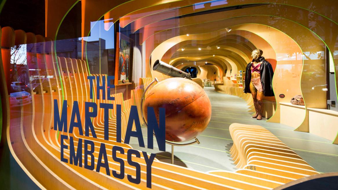 Martian Embassy