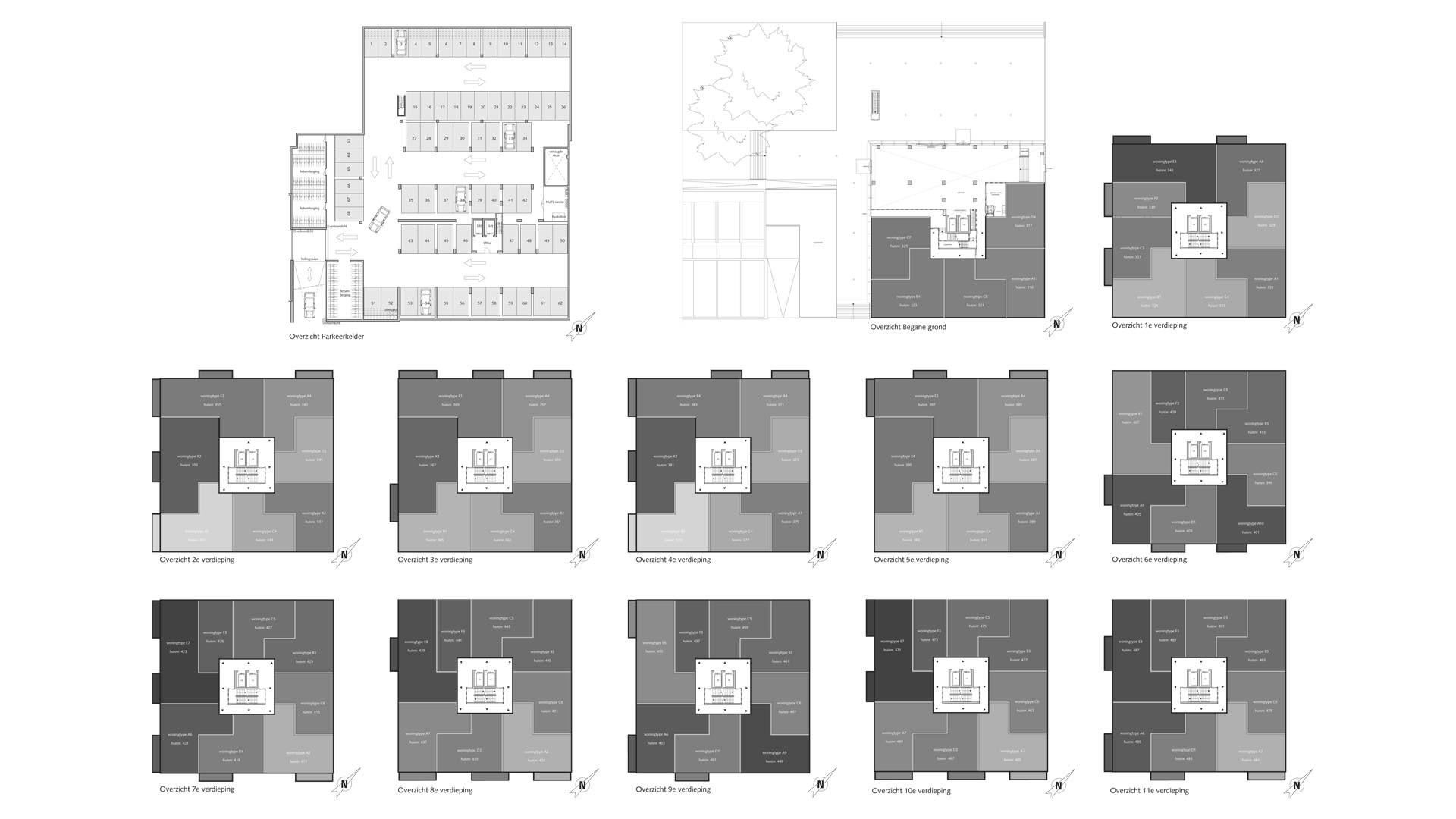 erasmus 2 plattegrond